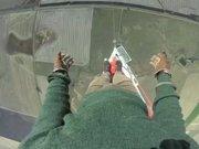 475 Metreye tırmandı