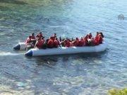 Sığınmacıların tehlikeli yolculuğu kamerada