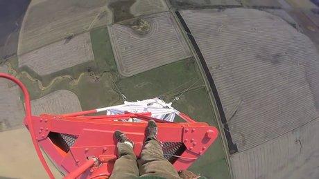 475 metrede adrenalin dolu anlar