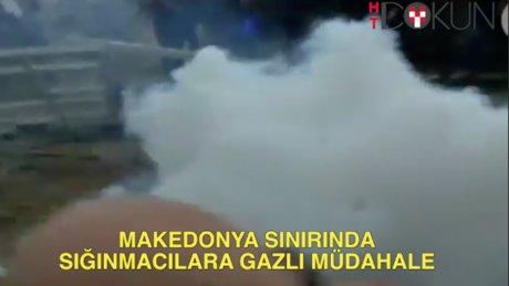Makedonya sınırında gerginlik