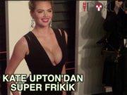 Kate Upton'dan müthiş frikik