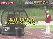 Justin Gatlin rüzgar gibi geçti