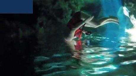 İnanılmaz yeraltı nehri!
