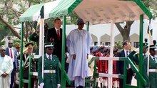 Erdoğan Nijerya'da resmi törenle karşılandı