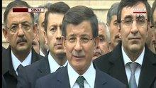 Başbakan Ahmet Davutoğlu Silopi'de konuştu