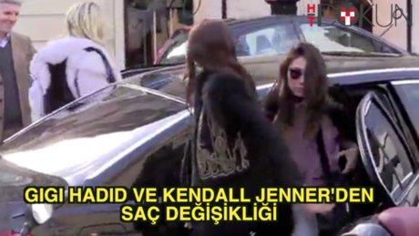Kendall Jenner ve Gigi Hadid'den saç değişikliği