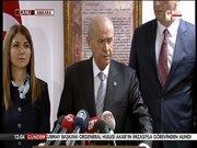 MHP lideri Devlet Bahçeli, gazetecilerin sorularını yanıtladı