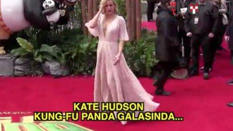 Kate Hudson Kung-Fu Panda galasında
