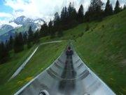 İsviçre'de dağ coaster