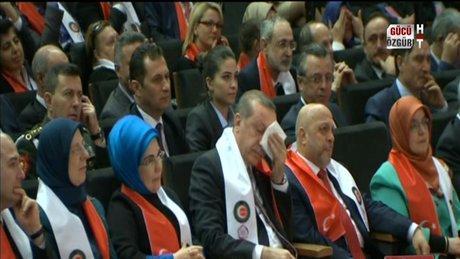 Erdoğan'ı ağlatan sözler