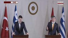 İki Başbakan'dan ortak basın toplantısı