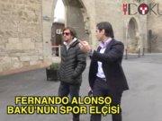 Bakü'nün spor elçisi Fernando Alonso