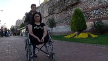 Koca şiddetinden iki bacağını kaybeden Arzu Boztaş:''Şiddet karşısında susmayın''