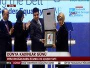 Emine Erdoğan Borsa İstanbul'un açılışını yaptı