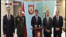 Davutoğlu Savunma Sanayii Toplantısı'nın sonrası açıklama yaptı