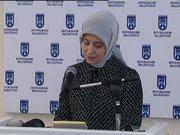 Sare Davutoğlu konuşması sırasında duygusal anlar yaşadı