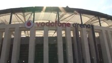 Beşiktaşlı futbolcular Vodafone Arena'ya kavuştular