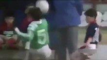 Messi'nin 8 yaşında attığı muhteşem gol