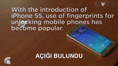 Telefonlardaki parmak izi okuyucuların açığı bulundu