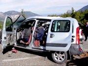 Trafik kazası: 4 ölü, 1 yaralı