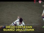 Diego Costa'dan Suarez usulü ısırık