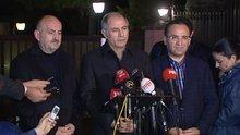 Efkan Ala ve Mehmet Müezzinoğlu'ndan açıklamalar