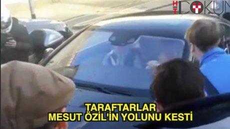 Mesut Özil'e taraftar sevgisi