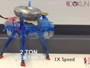Karınca robotlar 2 tonluk aracı çekmeyi başardı