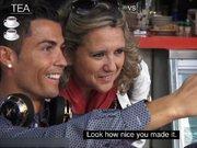 Ronaldo çay içmeye çıkarsa