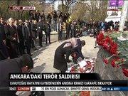 Başbakan Davutoğlu saldırının gerçekleştiği yerde