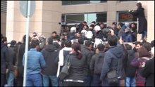 İstanbul adalet sarayı önünde avukatlara müdahale