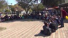 Akdeniz üniversitesinde nevruz kutlaması yapmak isteyen gruba polis müdahelesi