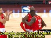 Kobe'nin son All-Star forması 100 bine satılık