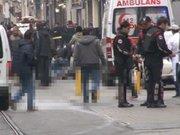 İstiklal Caddesi'nde patlamada yaralananlar var