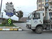 Bakırköy'de yollar kapatıldı
