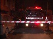Bayrampaşa'da baraka yangını