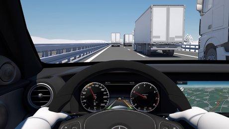 Mercedes'in yeni otomatik yol pilotu