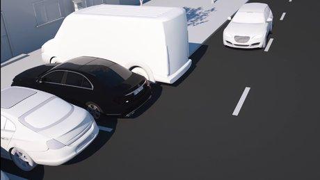 Mercedes'in yeni otomatik park pilotu