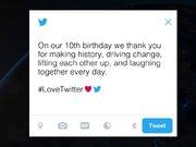 Twitter 10. yıl videosu