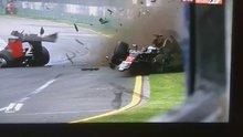 F1 pilotu Fernando Alonso'dan feci kaza