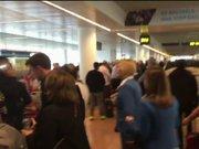 Brüksel Havalimanı'nda patlama sonrası ilk görüntüler
