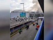 Brüksel havalimanı'nda patlama (olay yeri görüntüleri)
