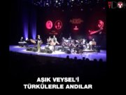Aşık Veysel'i türkülerle andılar