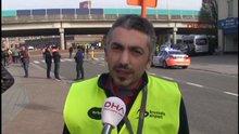 Havalimanı'ndaki Türk işçiler olayı anlattı