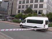Mecidiyeköy'de şüpheli minibüs