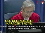 Radovan Karadzic'e 40 yıl hapis