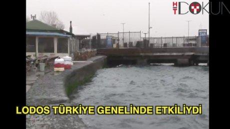 Türkiye'den lodos manzaraları