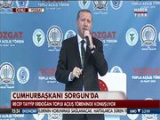 Cumhurbaşkanı Erdoğan Yozgat'ta