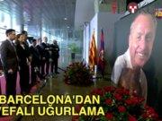 Barcelona fesaneyi uğurluyor