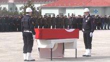 Şehit polis Fıstıkeken için tören düzenlendi